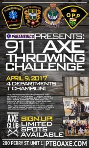 911 AxeThrowingChallenge